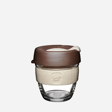 KeepCup Brew Glass Reusable Coffee Cup 8oz - Roast