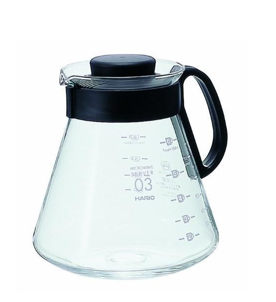 Hario V60 Range Coffee Server 03, 800ml
