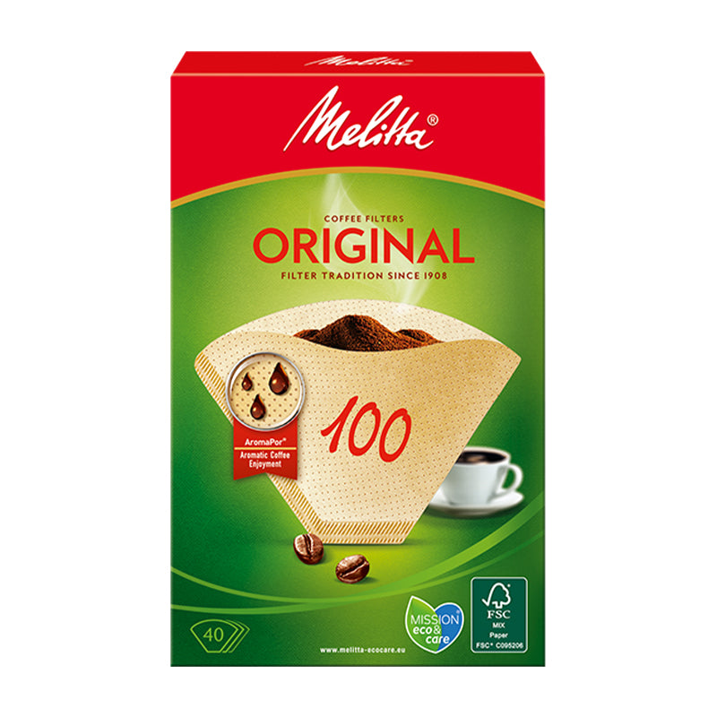Melitta Original Coffee Paper Filters Size 100 (40 pcs)