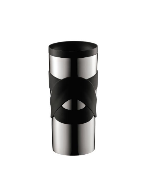 Bodum Stainless Steel Travel Vacuum Mug 0.35L - Black