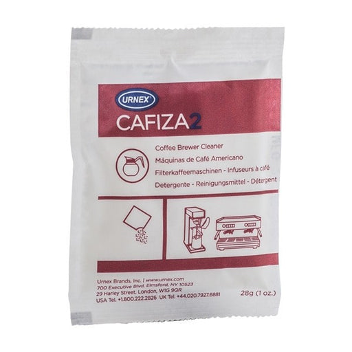 Urnex Cafiza 2 Coffee Machine Brewer and Urn Cleaner 10 Sachets