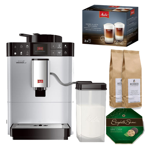 Melitta Caffeo Varianza CSP (Silver) with FREE Gifts