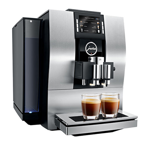 Jura Z6 Bean to Cup Coffee Machine - Aluminium