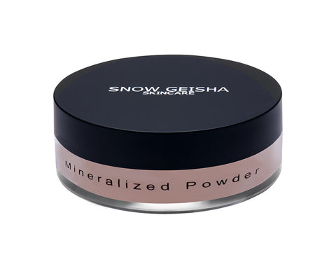 Mineralized Powder 'MEDIUM' - SNOW GEISHA SKINCARE