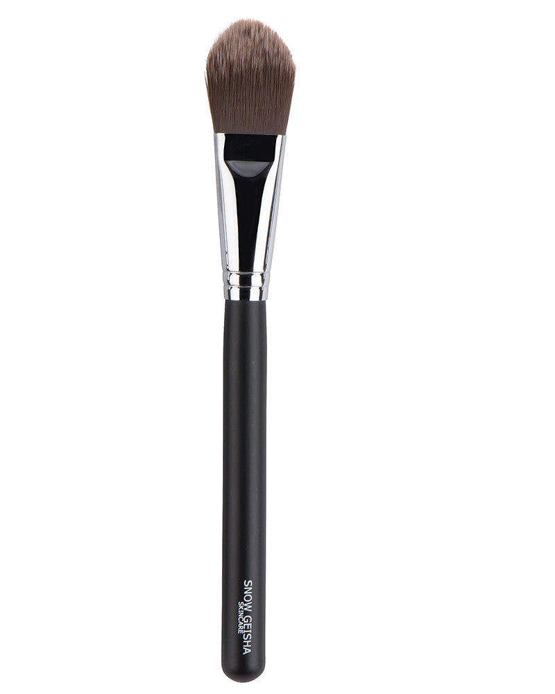 Oval Foundation Brush - SNOW GEISHA SKINCARE