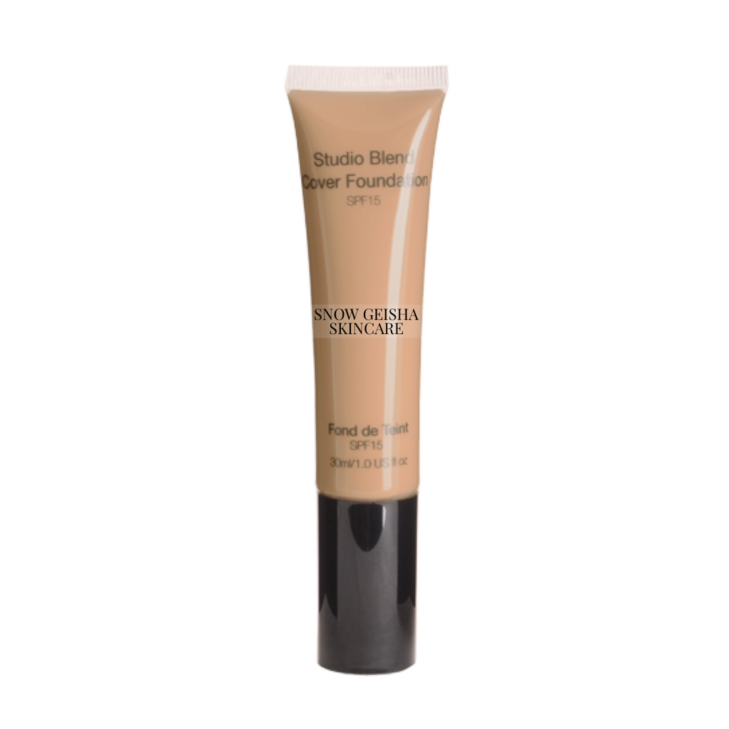 Studio Blend Cover Foundation SPF 15 '120' - SNOW GEISHA SKINCARE