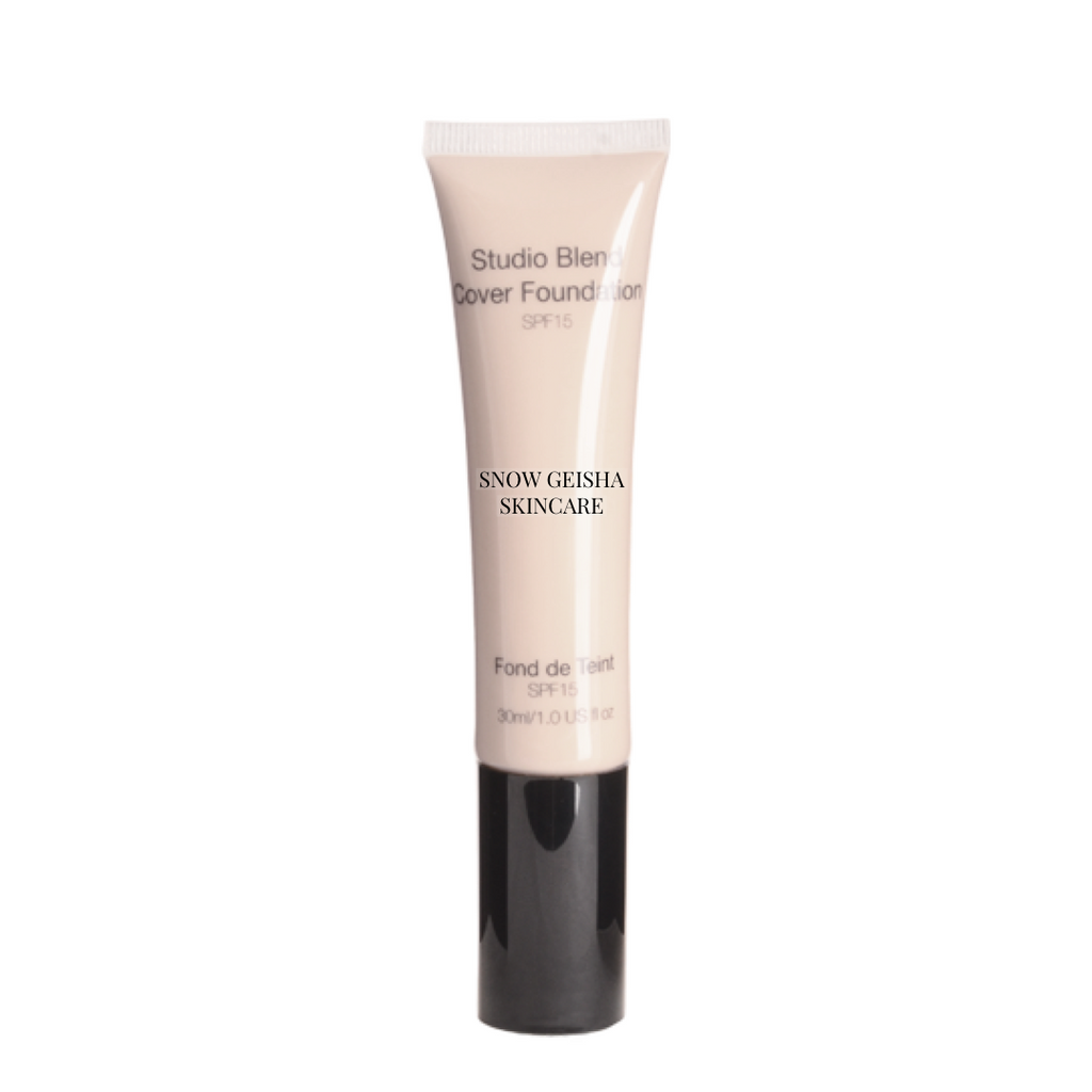 Studio Blend Cover Foundation SPF 15 '101' - SNOW GEISHA SKINCARE