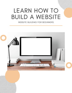 Website Building for Beginners