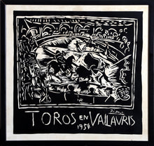 Load image into Gallery viewer, Toros en Vallauris, Vintage Poster