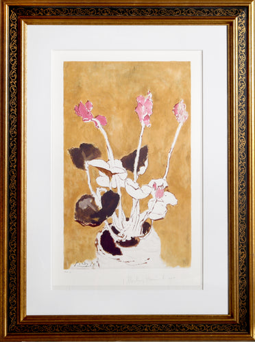 Pablo Picasso, Les Cyclamens, 22-E, Lithograph on Arches Paper