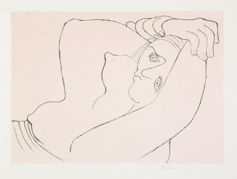 Pablo Picasso, Femme Couchee, 26-1, Lithograph on Arches Paper