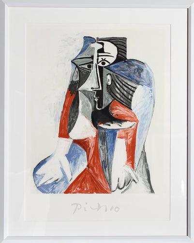 Pablo Picasso, Femme Assise, 28-1-k, Lithograph