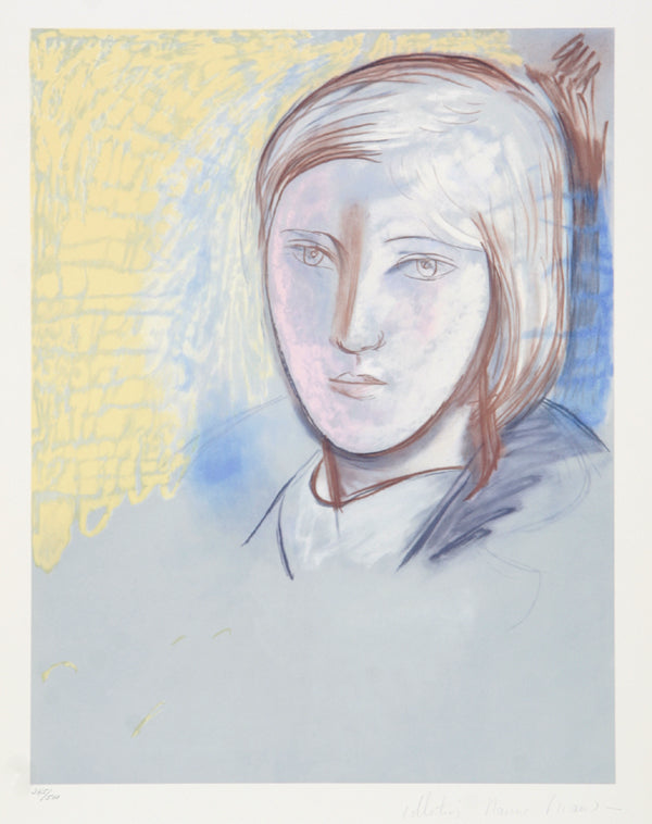 Pablo Picasso, Portrait of Marie Therese Walter, 29-1, Lithograph on Arches Paper