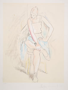 Pablo Picasso, Femme Assise, 29-2, Lithograph on Arches Paper