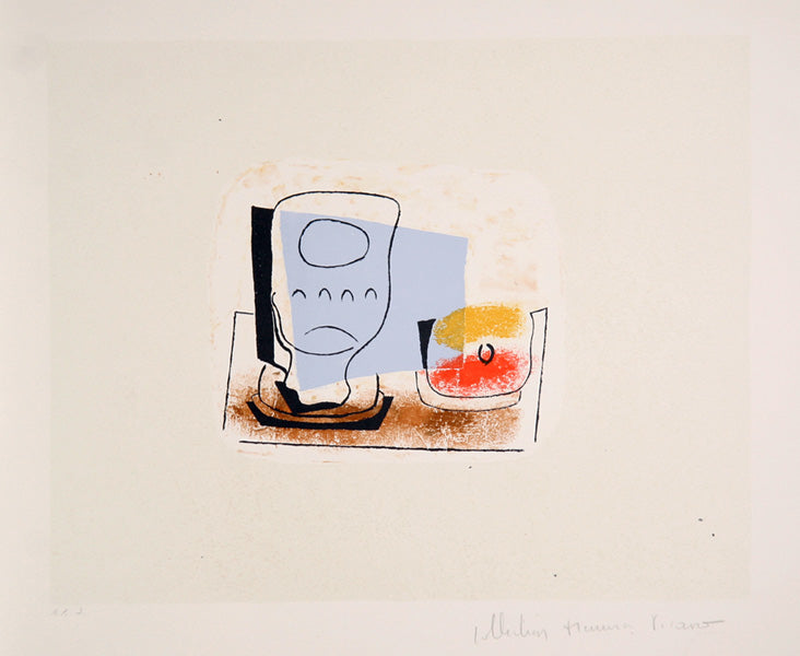 Pablo Picasso, Nature Morte au Verre, 35-3, Lithograph on Arches Paper