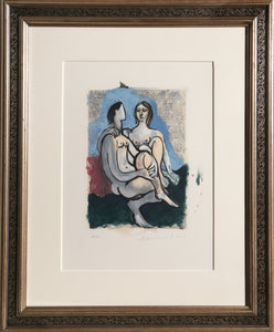 Pablo Picasso, La Couple, 36-6, Lithograph on Arches Paper