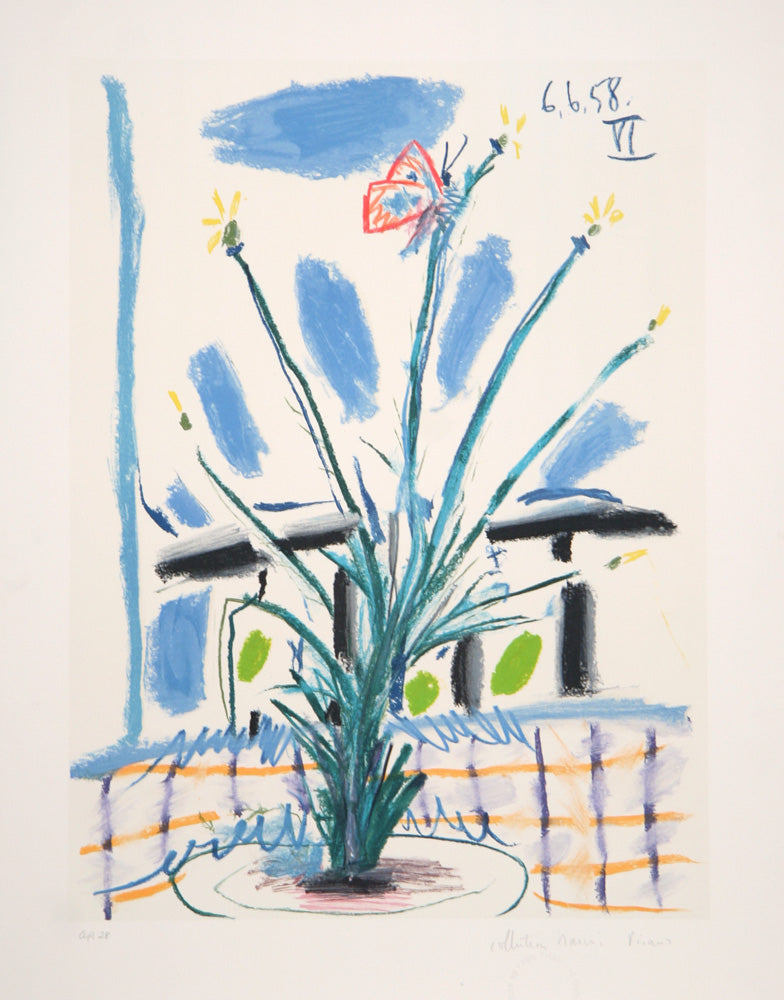 Pablo Picasso, Le Bouquet, 39-6, Lithograph on Arches Paper