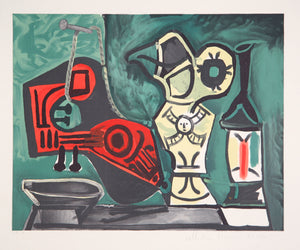 Pablo Picasso, Composition a la Mandoline, J-141, Lithograph on Arches Paper