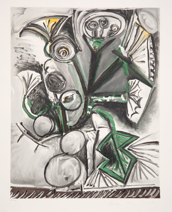 Pablo Picasso, Le Bouquet, J-205, Lithograph on Arches Paper