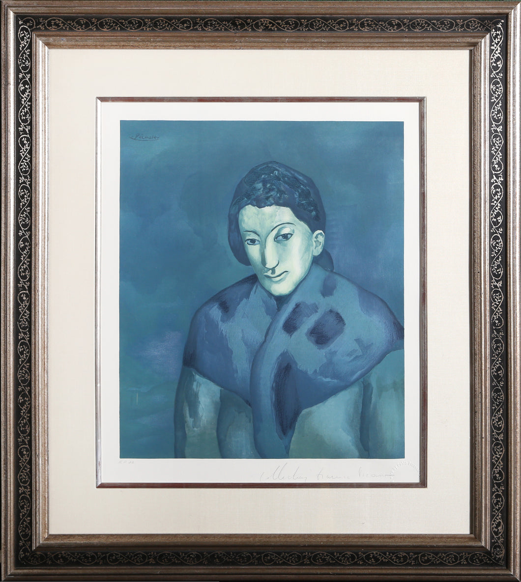 Pablo Picasso, Buste de Femme, 32-5, Lithograph on Arches, signed in pencil