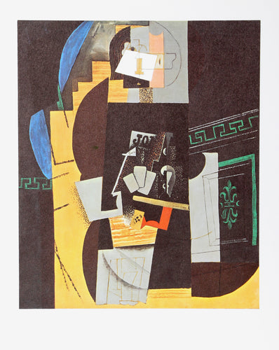 Pablo Picasso, Card Player, Offset Lithograph