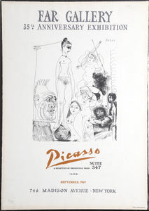 Pablo Picasso, Far Gallery 35th Anniversary Edition - Suite 347 New York, Poster
