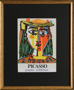Pablo Picasso, Graphic Exhibition: Gallery International, Lithograph Poster