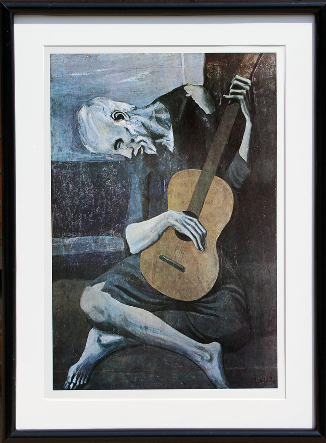 Pablo Picasso, The Old Guitarist, Offset Lithograph