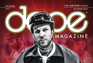 Dope Magazine – Riley Cote's Fight for Cannabis in Hockey