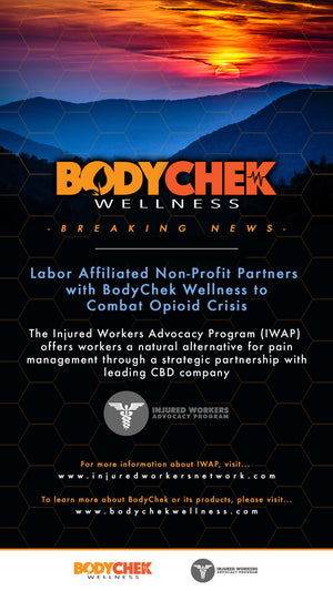 Labor Affiliated Non-Profit Partners with BodyChek Wellness to Combat Opioid Crisis