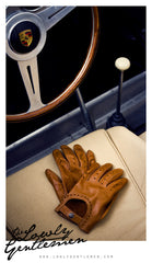 Lowly Gentlemen Porsche Driving Gloves