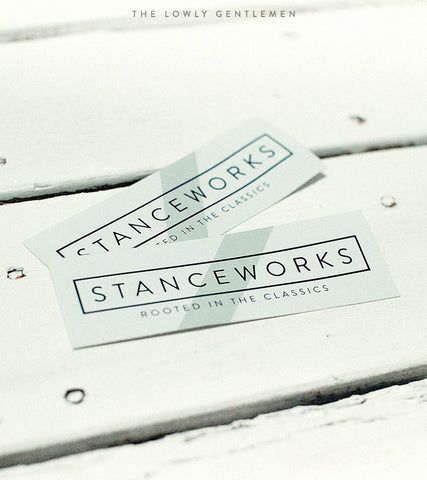 STANCEWORKS ROOTED STICKERS [PAIR]
