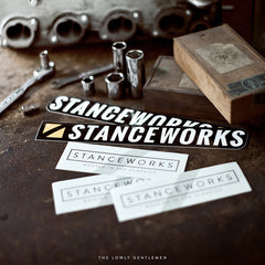 STANCEWORKS RENNSPORT STICKERS [DIRECTIONAL PAIR]