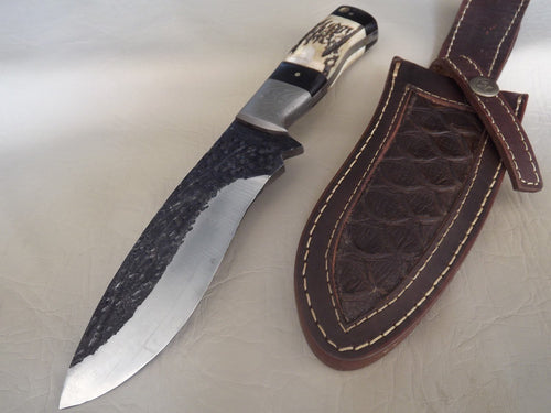 1095 Hand Forged Steel Hunting Knife