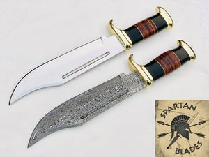 New Custom Handmade Crocodile Dundee Bowie Knives