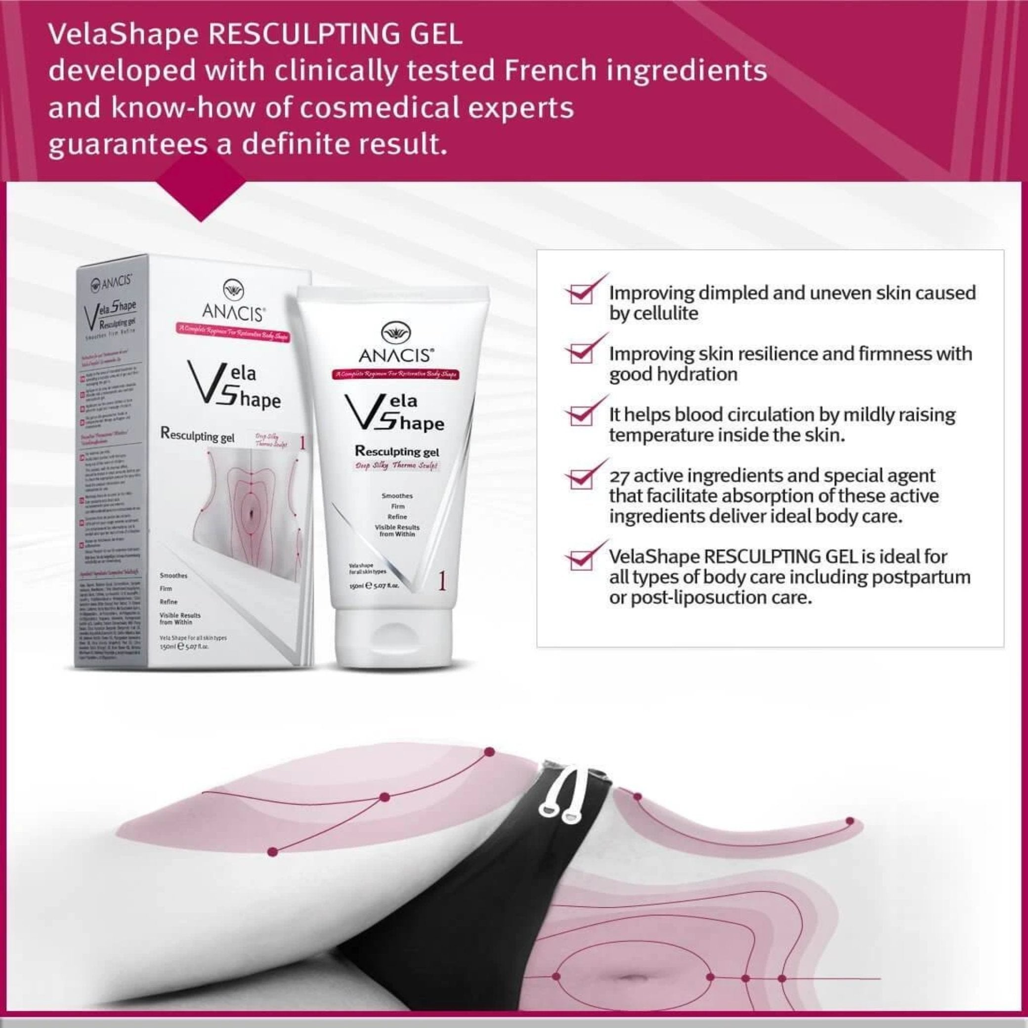 Get rid of the stubborn dimpled skin Relieve uneven skin - Medactiveshop