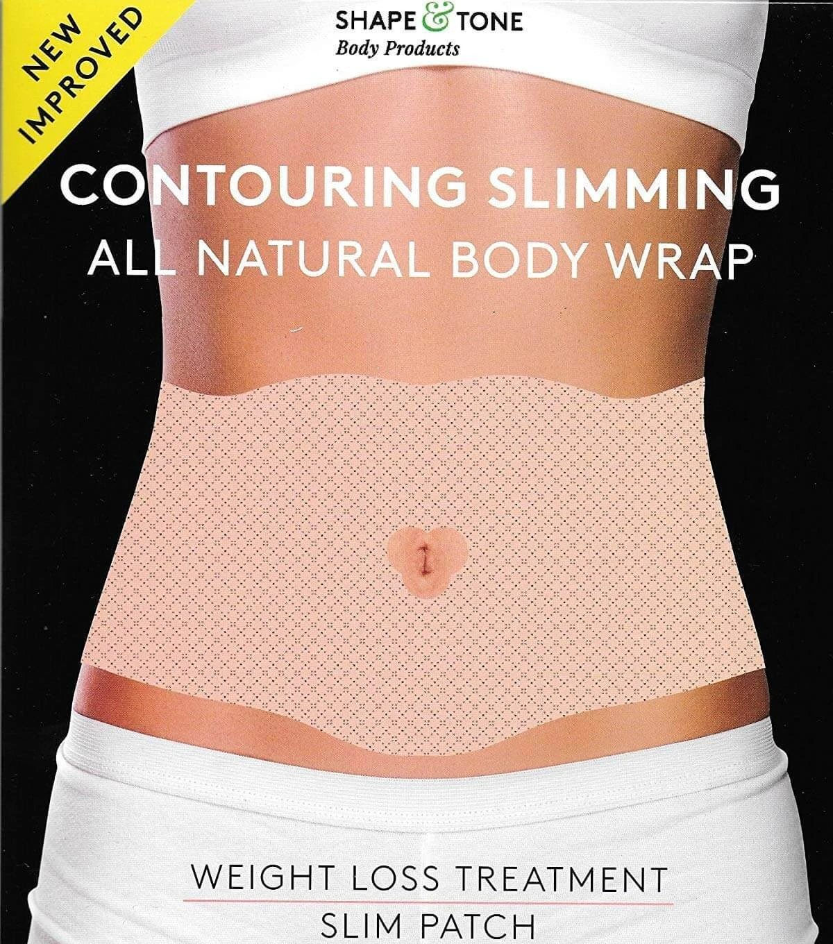 Body Contouring Body Slimming All Natural Ultimate Body Patch Skin Firm Tone Tighten- Medactiveshop