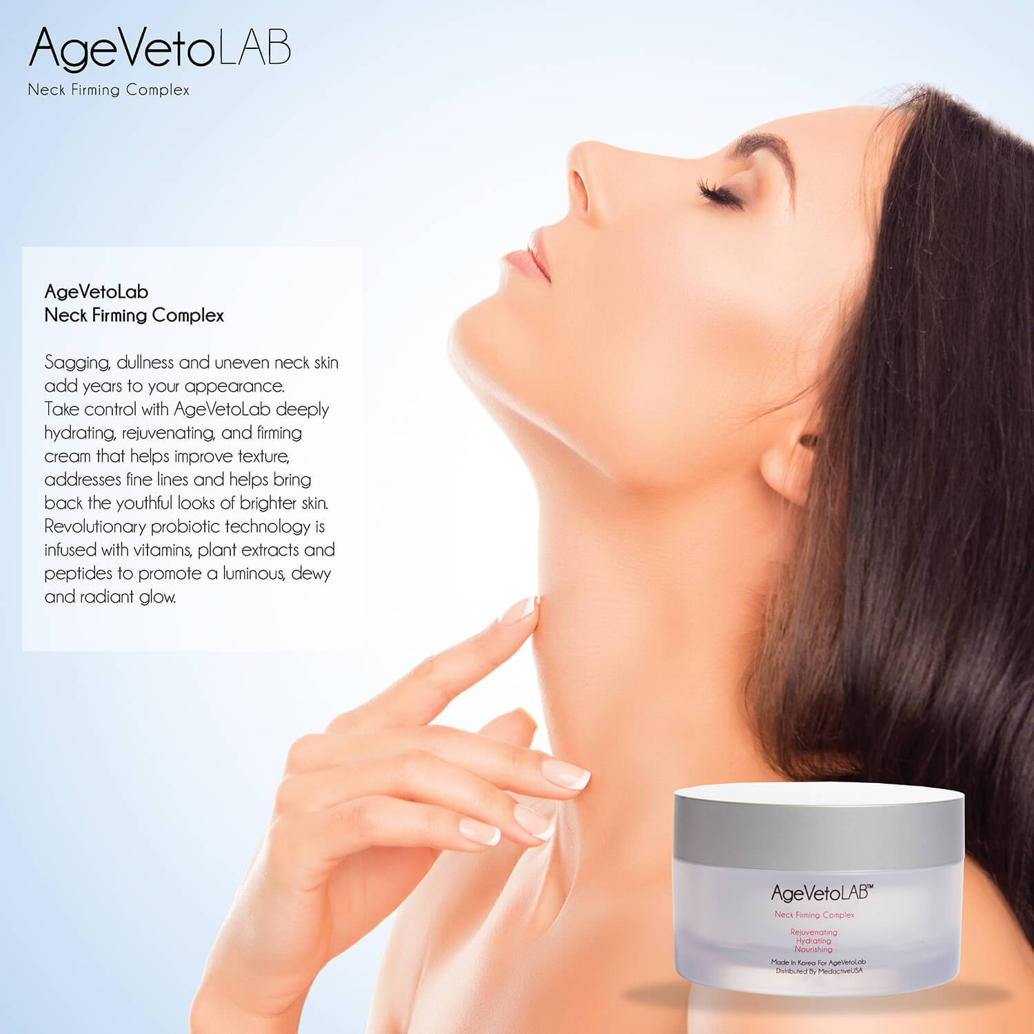 Neck Firming Moisturizing Cream anti aging- Medactiveshop