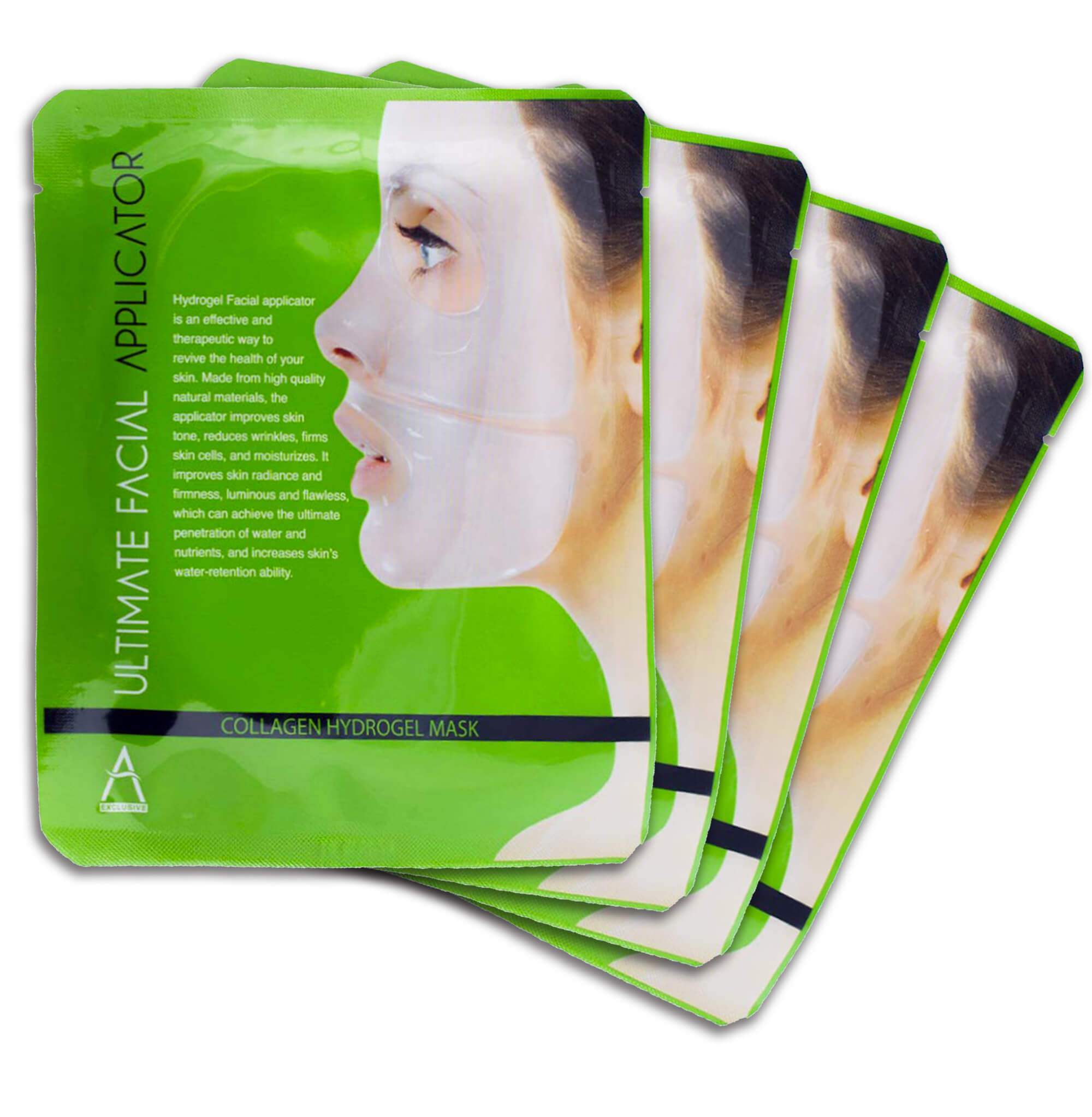 Ultimate Collagen Applicator Facial Mask For Skin Hydrating Lifting Rejuvenation - Medactiveshop