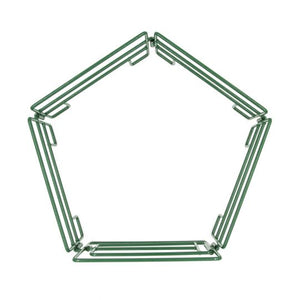 FARM ANIMAL TOY - 5 Piece Panel/Gate Combo Green