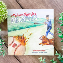 "Load image into Gallery viewer, Children's Book - ""A Home Run For Peanuts"""