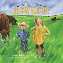 "Load image into Gallery viewer, Children's Book: ""Can-Do Cowkids"""