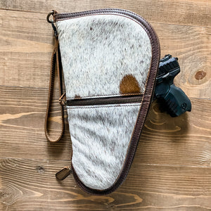 BRAND NEW! STS Cowhide Pistol Case