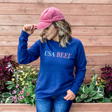 Load image into Gallery viewer, Women's Crew - USA Beef