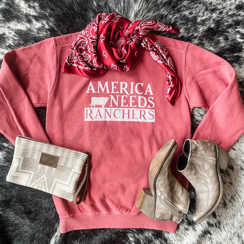 BRAND NEW! Crew - America Needs Ranchers