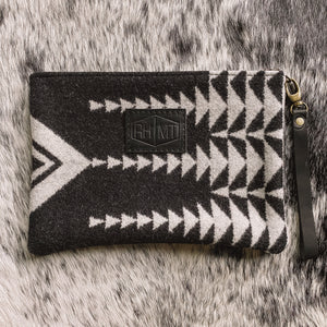 Pendleton Wool Clutch (Walking Rock)