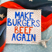 Load image into Gallery viewer, Women's Tee - Make Burgers Beef Again