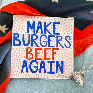 Women's Tee - Make Burgers Beef Again