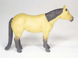 Farm Animal Toys - Quarter Horse (Black or Buckskin)