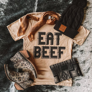 Tee - Eat Beef (Golden)